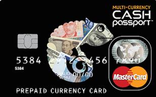 マルチカレンシーキャッシュパスポート 券面画像