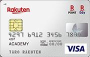 楽天カードアカデミーの券面画像